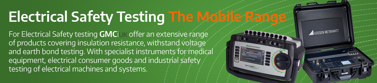 Electrical Safety Testing - The Mobile Range