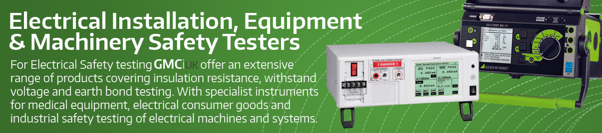 Installation, Equipment and Machinery Testers