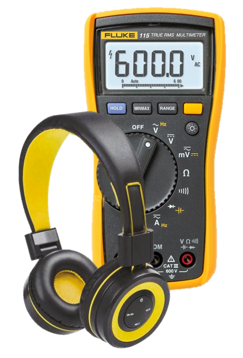 Fluke 115 + Free Headphones