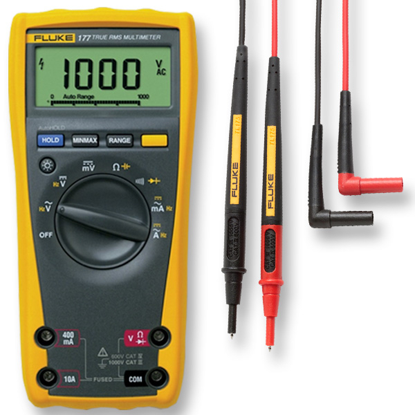Fluke 177 with Fluke TL175