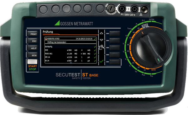 Gossen Metrawatt Secutest ST Base